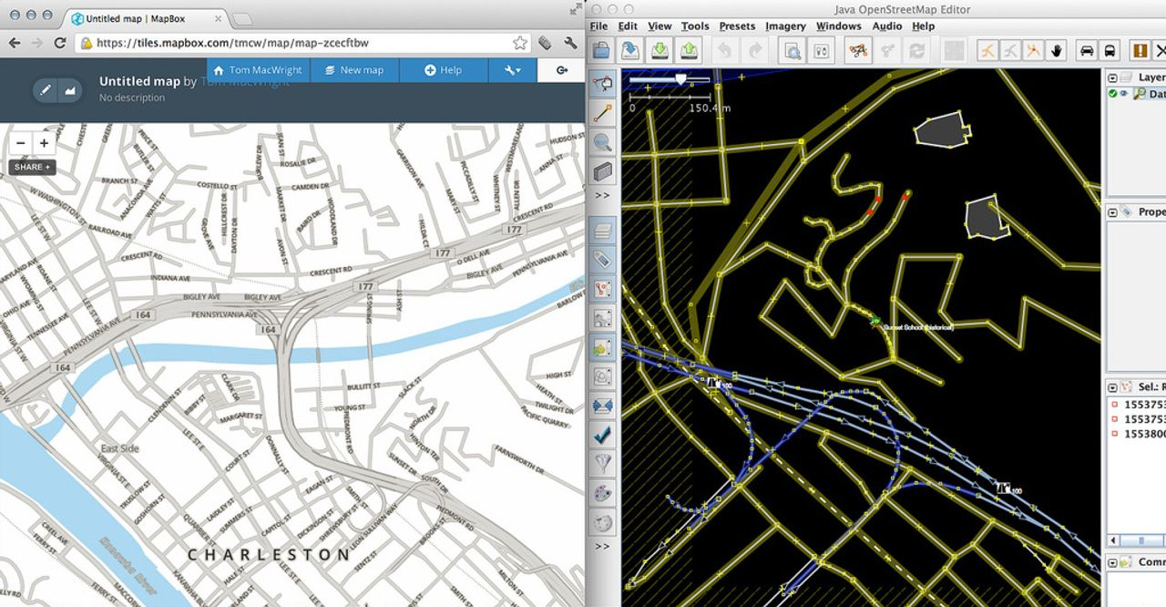 mapmote, a powertool for OpenStreetMap editing - macwright org